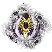 ML Bey Burst Blade con lanzadores de Mano peonza Juguete con Lanzador de Mano Espada Bey (Lila)