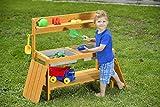 GASPO Kinder-Spieltisch Rudi mit integrierten Matschfächern