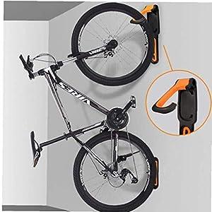 XIUNI Colgador montado en la Pared de la Bicicleta, Gancho de Almacenamiento Vertical Plegable, Gancho de Pared para Bicicleta de Servicio Pesado Estante de Bicicleta para Garaje Soporte