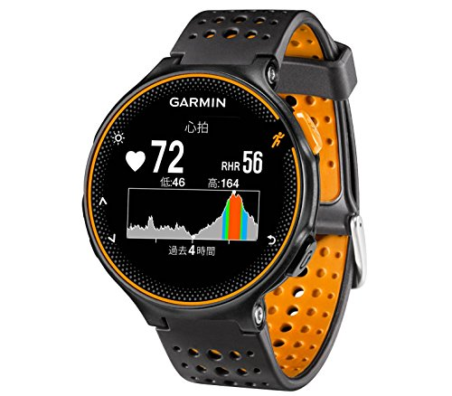 GARMIN(ガーミン) ランニングウォッチ 時計  GPS 心拍計 VO2Max ライフログ 50m防水 ForeAthlete 235J ブラ...