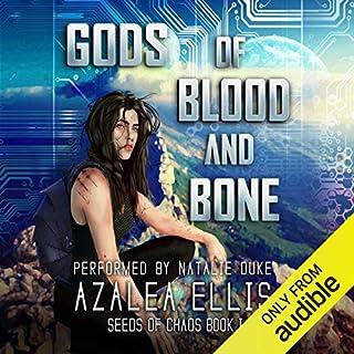 Page de couverture de Gods of Blood and Bone: A GameLit Novel