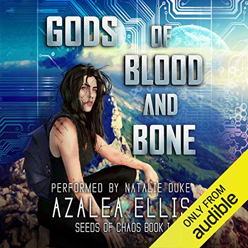 Gods of Blood and Bone: A GameLit Novel audiobook cover art