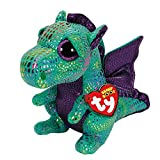 Claire's Accessories TY Beanie Boos Medium Cinder the Dragon Plush Toy