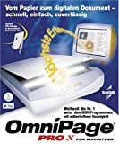SV UP OmniPage Pro X CD Mac -