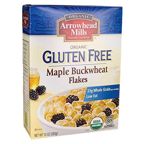 Arrowhead Mills Gluten-Free Organic Maple Buckwheat Flakes - 10 oz