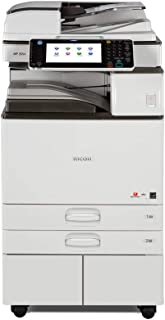 Ricoh Aficio MP 2554 Ledger/Tabloid-size Mono Laser Multifunction Copier - 25ppm, Copy, Print, Scan, 2 Trays and Stand (Renewed)