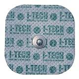 IACER I-TECH - 4 electrodos 48X48mm - Conexión de botón