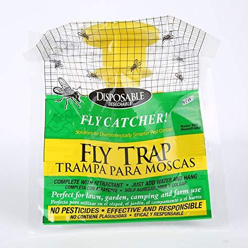 Genenic Fly Catcher Mosquito Insectes Moth Antiparasitaire à Suspendre Appât Sac à Mouches Bug Garden Fournitures
