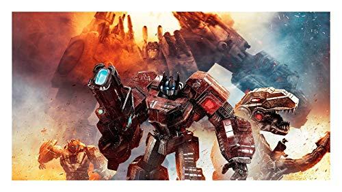 ZGPTOP Rompecabezas Transformers Bumblebee Optimus Prime Rompecabezas Regalo para Niños Adultos Decoración Hogareña 300/500/1000/1500 Piezas, 2 Estilos (Color : B, Size : 300P)
