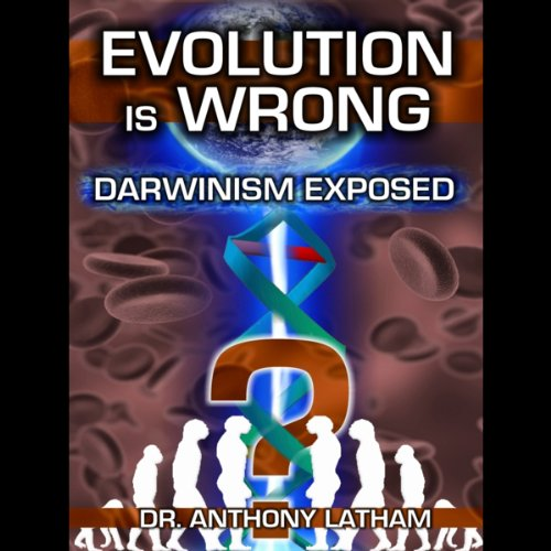 Evolution is Wrong audiobook cover art