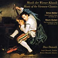 Viennese Music for Violin & Guitar By Molitor by MOLITOR / GIULIANI