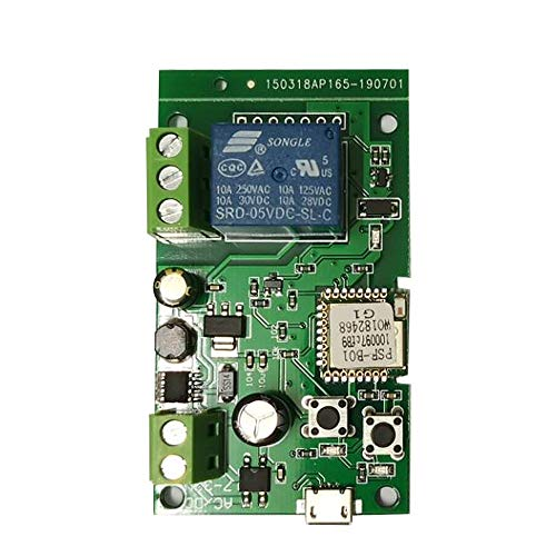 Sonoff WiFi Switch, DC5V 12V 24V 32V Wireless Relay Module Smart Home...