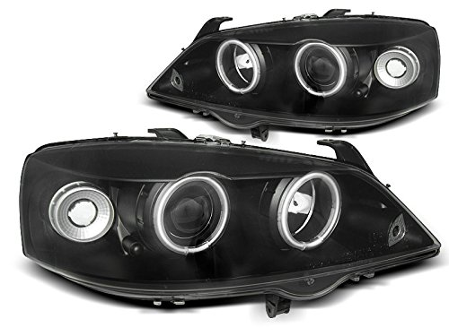 Koplamp Astra G 97-04 Angel Eyes CCFL zwart (PA5)