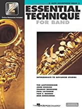 Essential Technique for Band with EEi - Intermediate to Advanced Studies: Eb Alto Saxophone