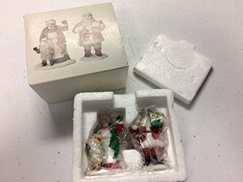 Dept 56 Heritage Village Collection Santa & Mrs. Claus #5609-0