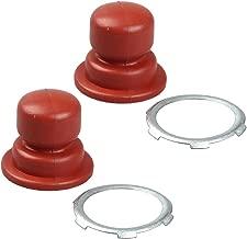 Milttor 2 Packs 640259 Primer Bulb Fit Tecumseh Lawn Mower 36045A 36045