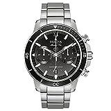 new Bulova marine star orologio acciaio uomo crono 96B272