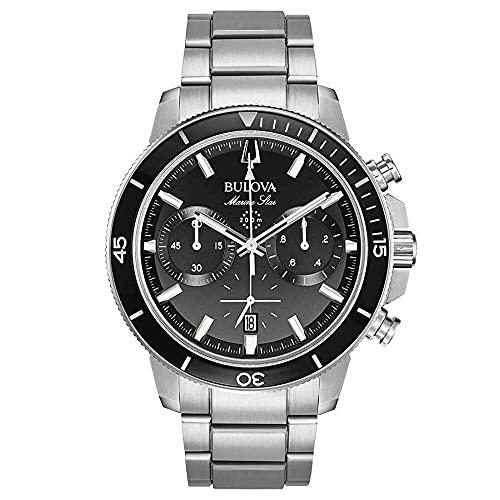 Bulova Herren Armbanduhr Chronograph Marine Star 96B272