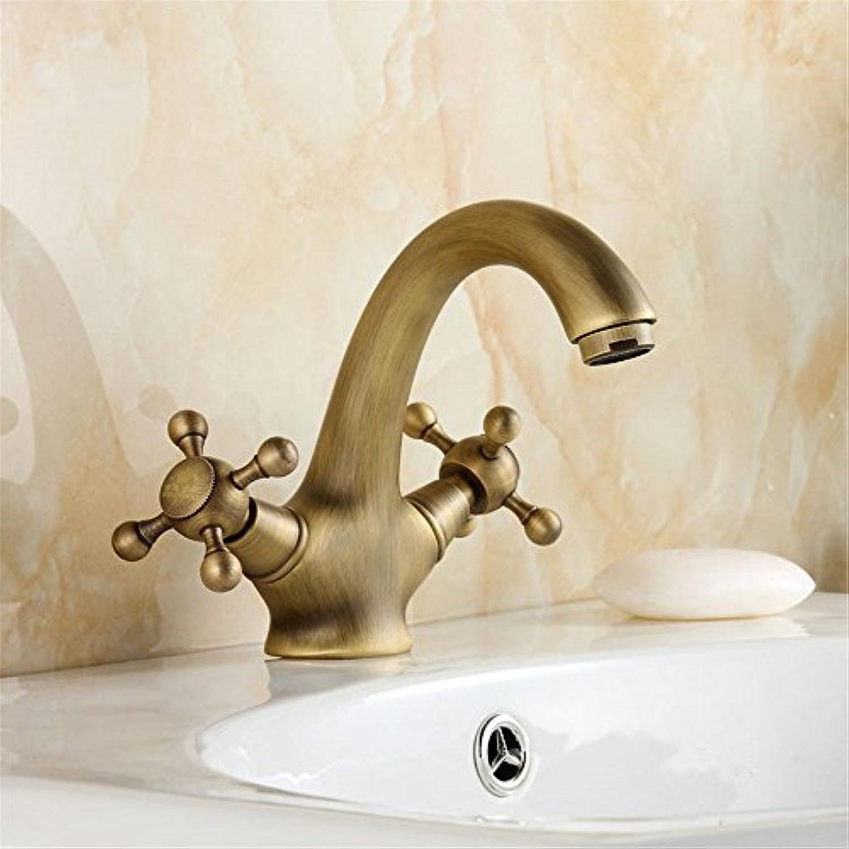 ETERNAL QUALITY Badezimmer Waschbecken Wasserhahn Messing Hahn Waschraum Mischer Mischbatterie Die antike Kupfer kalt Wasserhahn antiken Tisch Waschbecken Mischbatterie K