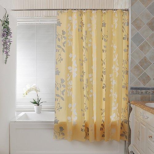 Rideaux de douche Rideaux de douche rembourré imperméable à l'eau moisissure rideau en rotin salle de bain rideau de douche tissu rideau de partition Rideaux de douche de haute qualité