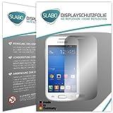 Slabo 2 x Film de Protection d'écran pour Samsung Galaxy Trend Lite Protection écran Film No Reflexion Mat