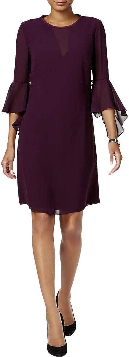 Vince Camuto Women's Fluttery Bell-Sleeve Dress