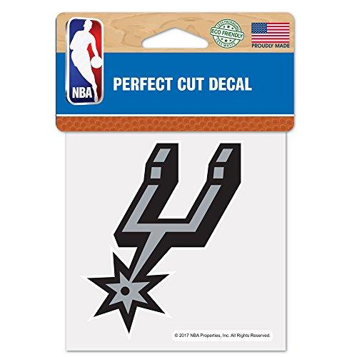 NBA San Antonio Spurs Perfect Cut Color Decal, 4' x 4'