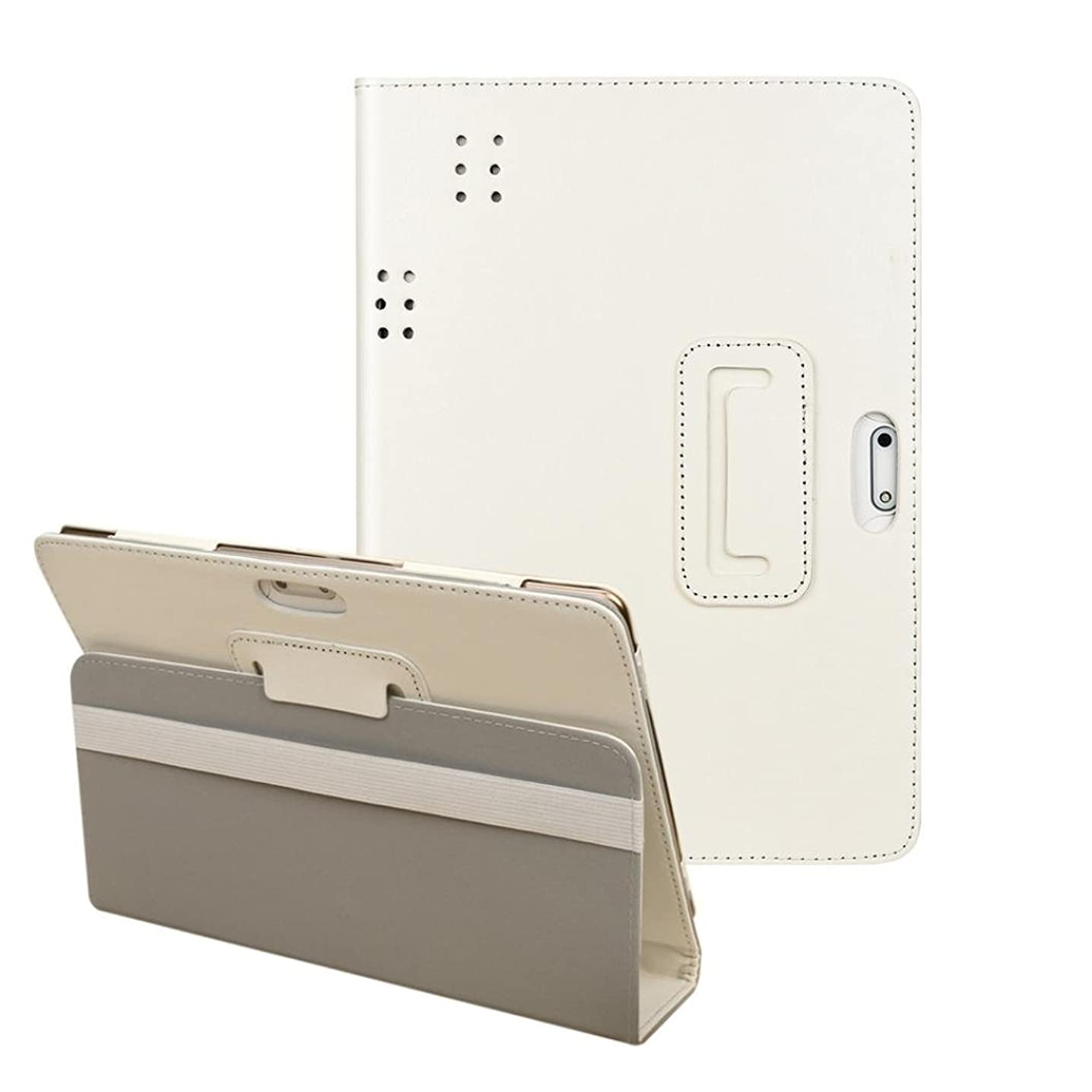 MChoice Universal Folio Leather Stand Cover Case For 10 10.1 Inch Android Tablet PC