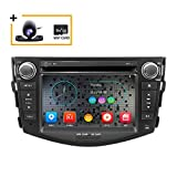 Freeauto Car in Dash Radio pour Toyota RAV4 2006 2007 2008 2009 2010 2011 2012 7 pouces Moniteur Lecteur DVD Navigation GPS Stéréo
