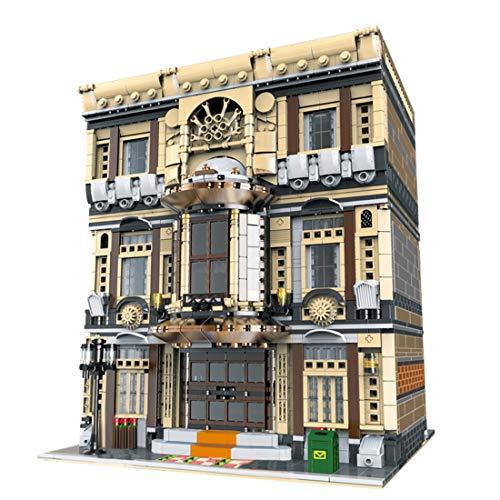 YxFlower City Custom 5052 piezas de construcción de piezas de construcción para construir un puzle de construcción – Museo oceanográfico