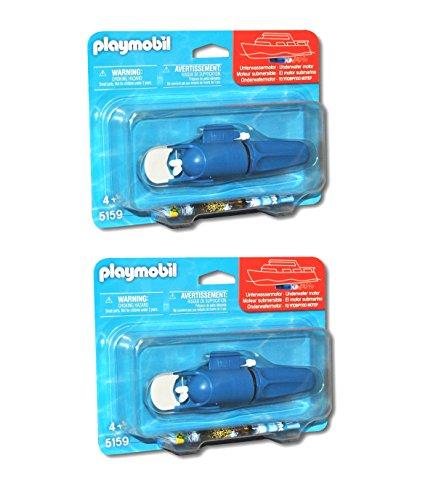 Outletdelocio. Playmobil 5159. Pack 2 unidades motor submarino para barcos, lanchas o submarinos de Playmobil.