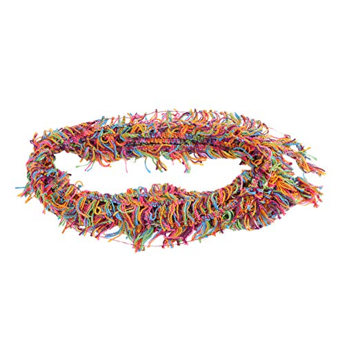 Healifty 1 rol breien garen kwastrand trim Boho lint voor naaien ambachten sjaal decoreren borduurwerk kleding