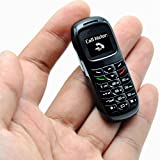 BM70 Super Small Tiny Bluetooth Dialer Headset Mobile Cell Phone Great to Hide GSM Phone Bluetooth BT dialer Unlocked (Black)