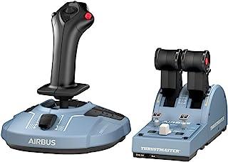 Thrustmaster TCA Officer Pack Airbus Edition Réplicas ergonómicas de los cuadrante de aceleración y palanca de control lat...