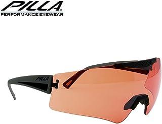 vigilante 54HC rojo lente de gafas marco negro