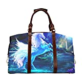 Bolso Weekender Grande Pegasus HD S Aby Classic Oversized Waterproof PU Leather Beauty Travel Bag Impermeable Travel Duffel Bag