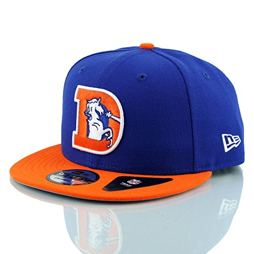 New Era Denver Broncos Throwback NFL Snapback Cap
