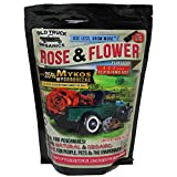 Best Rose Fertilizers - Rose & Flower 4-2-2 Organic Fertilizer with MYKOS Review