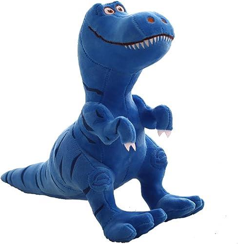 Compra calidad 100% autentica Agradecido por todo Juguete de Dinosaurio de Peluche Tyrannosaurus Tyrannosaurus Tyrannosaurus Rex King Talla Ragdoll Día del Niño para Enviar a los Niños Regalos de cumpleaños muñecas Lindas (azul) (Talla   28×40)  garantizado