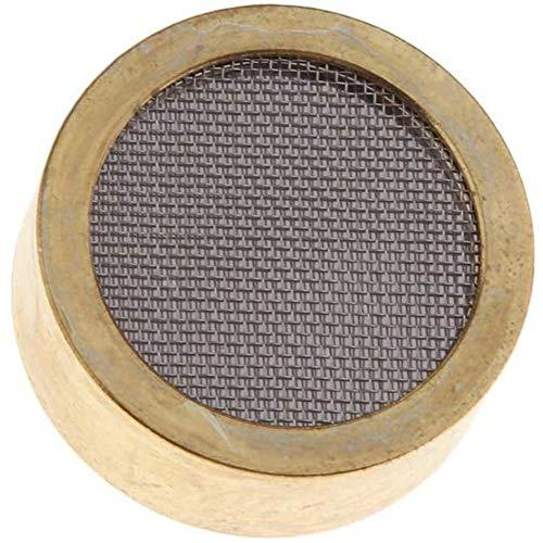 Micrófono de cápsula Cápsula de micrófono de Condensador de aleación de Aluminio Cabeza de micrófono de Oro Core