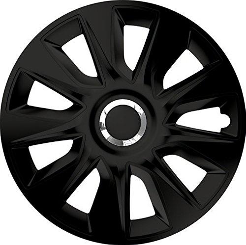 ZentimeX Z744903 Radkappen Radzierblenden universal 17 Zoll Black