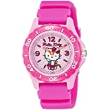[シチズン Q&Q] 腕時計 アナログ ハローキティ 防水 ウレタンベルト VQ75-230 レディース ピンク