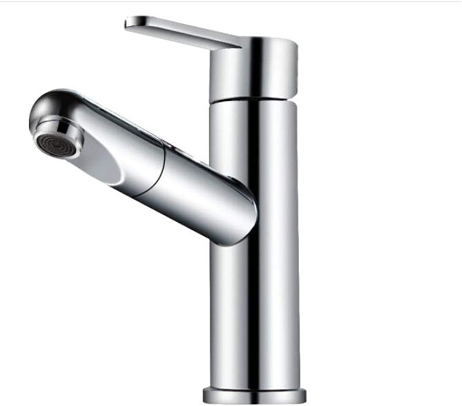 Bathroom Sink Basin Lever Mixer Tap Copper Basin Faucet Washbasin Table Basin Cold and Hot Pumping Faucet
