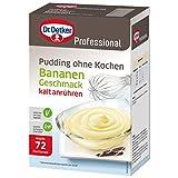 Dr. Oetker Professional Pudding ohne Kochen mit Schokoladen-Geschmack, Cremepulver -
