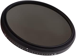 Slim Fader Variable ND Filter Adjustable ND2 to ND400 Neutral Density (58mm) For Canon HF G40