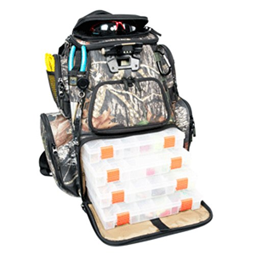 Wild River NOMAD Mossy Oak Tackle Tek Lighted Backpack w/4 PT3600 Trays - 1 Year Direct Manufacturer Warranty