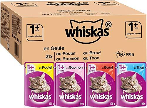 Whiskas Sachets Fraîcheur pour Chat Adulte (Stérilisé Ou...