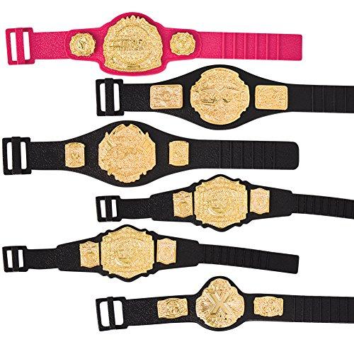 TNA Set of 6 Jakks Action Figure Belts