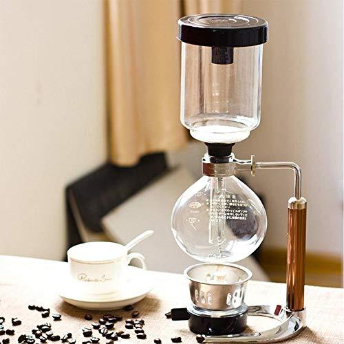 tackjoke 3 Tassen Siphon Kaffeemaschine Kaffee Siphon Filter Kaffeemaschine, Siphon Filter Kaffeemaschine Siphon Kaffeemaschine, Filter Maschine Zum Aufbrühen Von Kaffee Und Tee Delightful Charming
