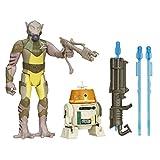 Hasbro - B3962 - Star Wars Rebels - Garazeb Orrelios 'Zed' & C1-10P 'Chopper' - 2 Figuras 9 cm + Accesorios